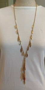WHBM gold necklace